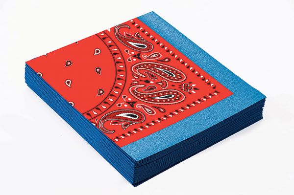Way Out West Party Napkins Cowboy Tableware American Wild West & Indians